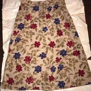 Sag Harbor printed skirt